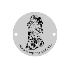 B010-Rola snur alb cu guta in interior 1 mm -1 buc
