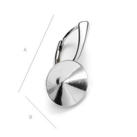 P1112-Swarovski Elements 6228 Emerald 14mm-1 buc