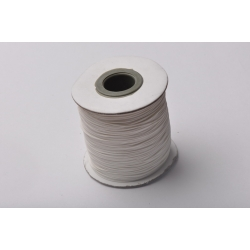 B026-Rola snur imitatie piele alb 0.5 mm -1 buc