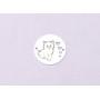 P2989-Swarovski Elements 5601 Cube Bead Crystal Aurore Boreale B 6mm