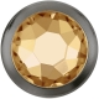 2748-Swarovski Elements 2080/H Crystal Nacre Unfoiled 7mm - 1BUC