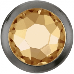 2748-Swarovski Elements 2080/H Crystal Nacre Unfoiled 7mm - 1BUC