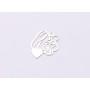 2754-Swarovski Elements 2078/H Crystal Golden Shadow Silver-Foiled SR 7mm - 1BUC